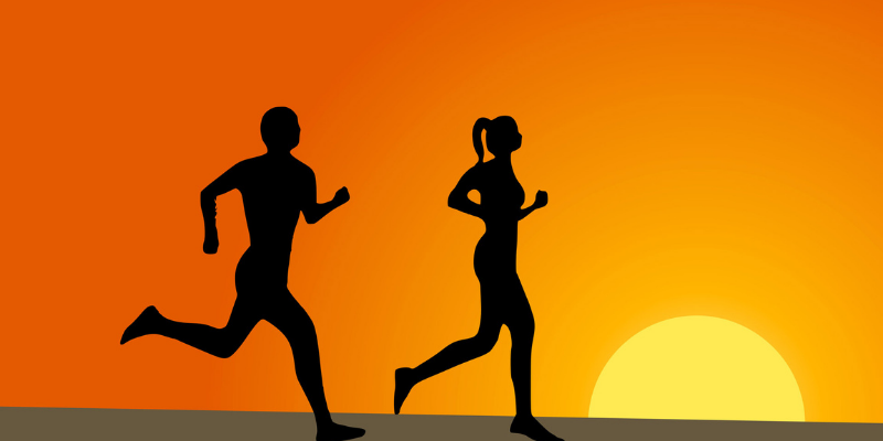 The Number of Calories Burned in 30 Minutes during a Jog