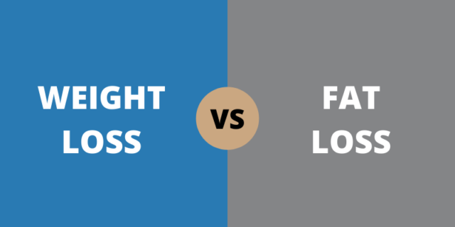 weight loss vs fat loss explained