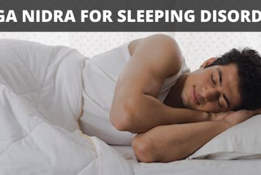 yoga-nidra-on -sleeping -disorder